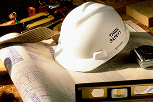 Contractor Safety Helmet - Think Safety - The Miller Insurance Agency Everett Washington